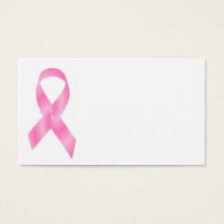 Breast Cancer Pink Ribbon Business Card