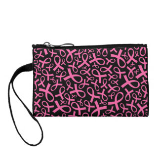 Breast Cancer Pink Ribbon Clutch Gift