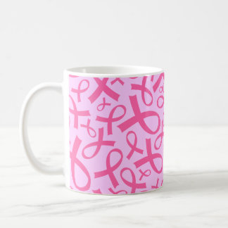 Breast Cancer Pink Ribbon Gift Mug