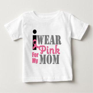 BREAST CANCER PINK RIBBON Mom Infant T-shirt