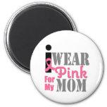 BREAST CANCER PINK RIBBON Mom Refrigerator Magnets