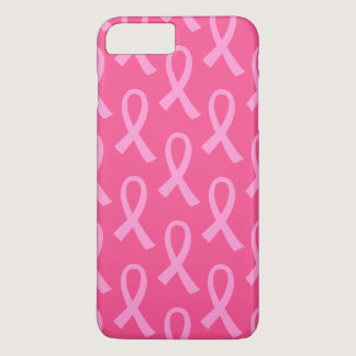 Breast Cancer Pink Ribbon Pattern iPhone 8 Plus/7 Plus Case
