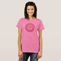 Breast Cancer Pink Ribbon Team Captain T-Shirt