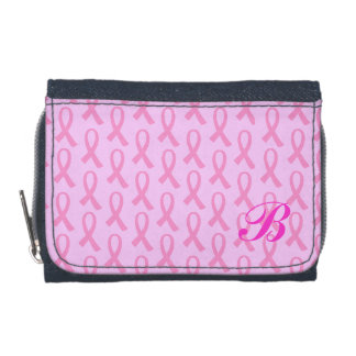 Breast Cancer Pink Ribbon Wallet