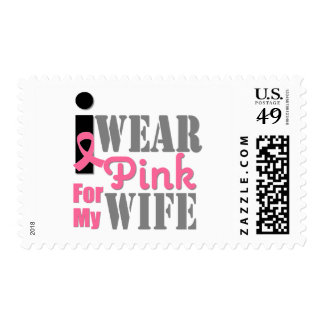BREAST CANCER PINK RIBBON WIFE STAMPS