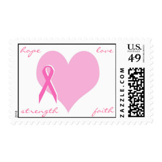 Breast cancer postage
