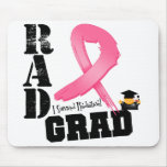 Breast Cancer Radiation Therapy RAD Grad Mouse Pads