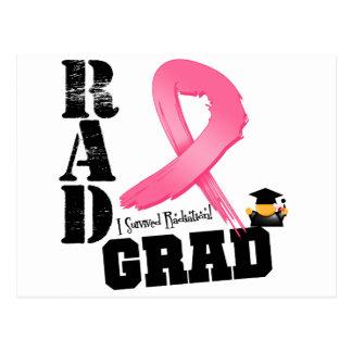 Breast Cancer Radiation Therapy RAD Grad Post Card