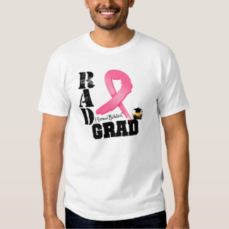 Breast Cancer Radiation Therapy RAD Grad Tee Shirt
