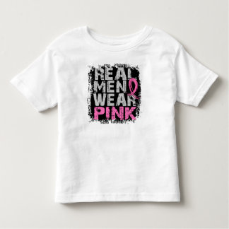 Breast Cancer Real Men Wear Pink T Shirt
