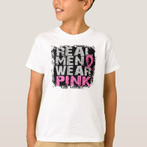 Breast Cancer Real Men Wear Pink T-Shirt
