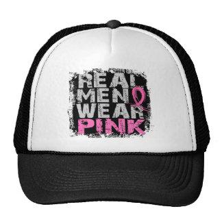 Breast Cancer Real Men Wear Pink Trucker Hat