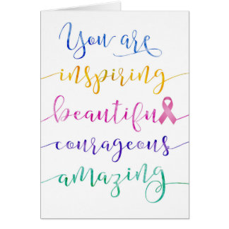 Breast cancer patient greeting cards zazzle breast cancer remember who you are card m4hsunfo