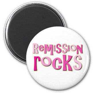Breast Cancer Remission Rocks Magnet
