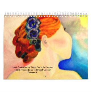Breast Cancer Research Calendar by Georgie Hanson
