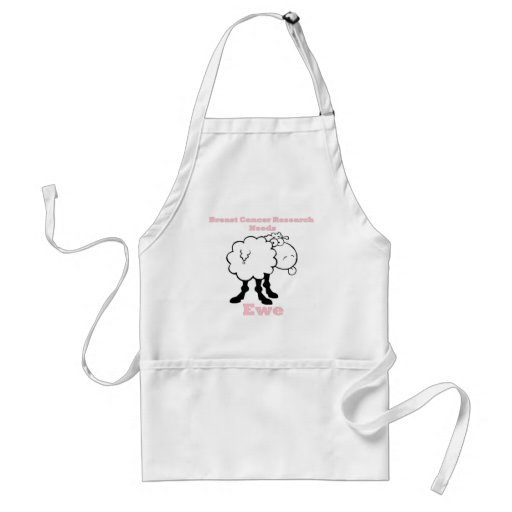 Breast Cancer Research needs ewe Adult Apron