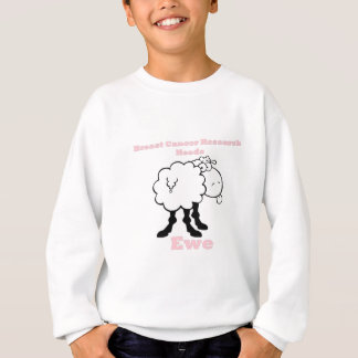 Breast Cancer Research needs ewe Sweatshirt