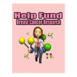 Breast Cancer Research Post Card
