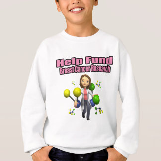 Breast Cancer Research Sweatshirt