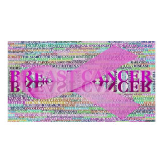 Breast Cancer Ribbon Art Poster