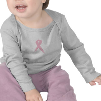 Breast Cancer Ribbon: Flourish Shirt for Baby