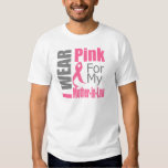 Breast Cancer Ribbon I Wear Pink Mother-in-Law Shirts