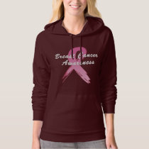 Breast Cancer Ribbon of Hope Hoodie