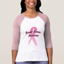 Breast Cancer Ribbon of Hope T-Shirt