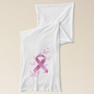 Breast Cancer Ribbon Scarf