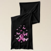 Breast Cancer Ribbon Scarf