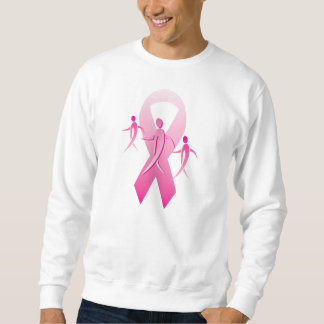 Breast Cancer Ribbon Walkers Sweatshirt