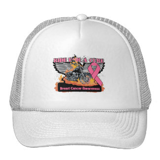Breast Cancer Ride For a Cure Hats