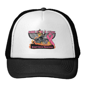 Breast Cancer Ride For a Cure Trucker Hat