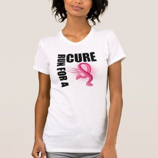 Breast Cancer Run For a Cure T Shirts