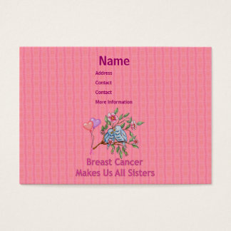 Breast Cancer Sisters Business Card