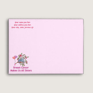 Breast Cancer Sisters Envelope