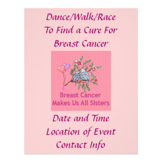 Breast Cancer Sisters Flyer