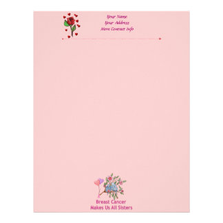 Breast Cancer Sisters Letterhead