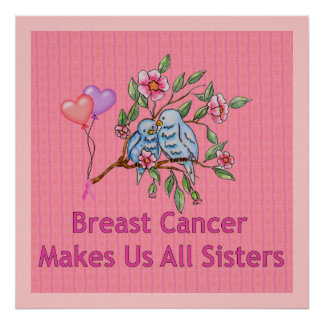 Breast Cancer Sisters Poster