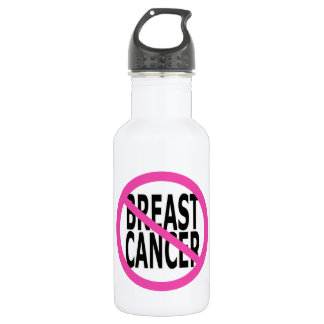 BREAST CANCER STAINLESS STEEL WATER BOTTLE