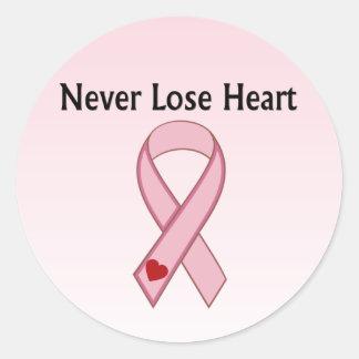 Breast Cancer Round Sticker