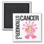 Breast Cancer - Stronger Than Cancer Magnets