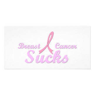 Breast cancer sucks card