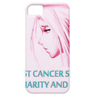 Breast Cancer Sucks Sad Anime Face iPhone 5 Cases