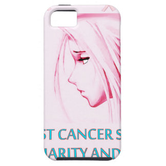 Breast Cancer Sucks Sad Anime Face iPhone 5 Cover