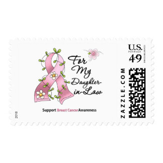 Breast Cancer Support Daughter-in-Law Postage