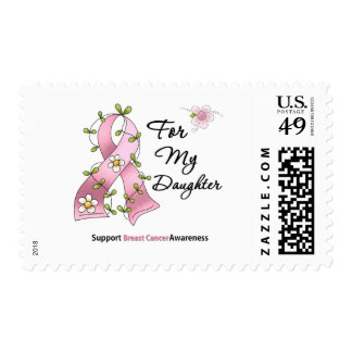Breast Cancer Support Daughter Stamp