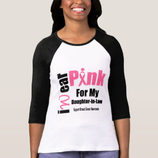 Breast Cancer Support Pink Ribbon Daughter-in-Law Shirts