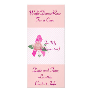 Breast Cancer Support Rack Card