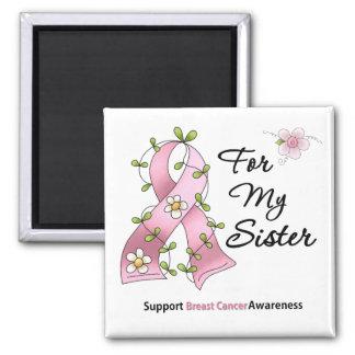 Breast Cancer Support Sister Fridge Magnet